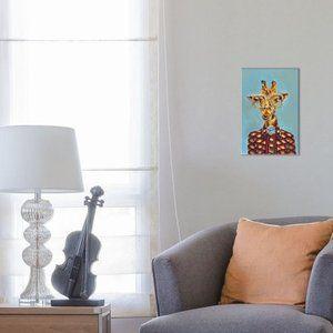 "iCanvas Gucci Giraffe by Heather Perry 12"" x 8"""
